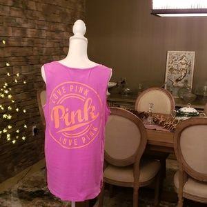 Pink by Victoria's Secret Oversized Tank